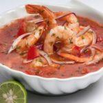 receta de ceviche de camarón
