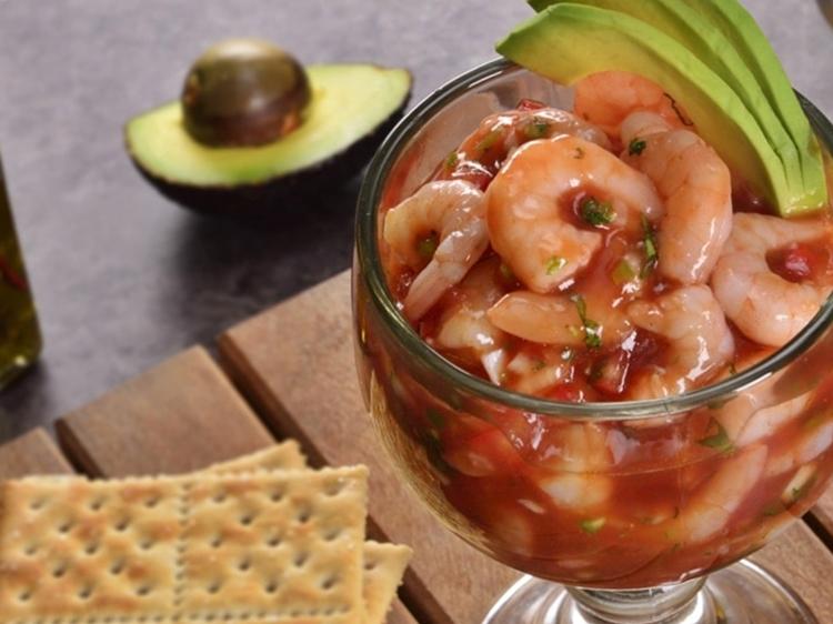 ceviche de camarón receta fácil