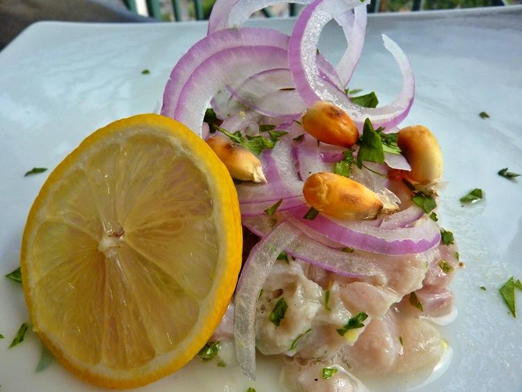 receta de ceviche de pescado peru