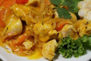 receta de ceviche de pollo peruano