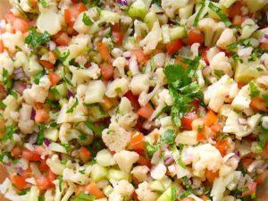ceviche de verduras