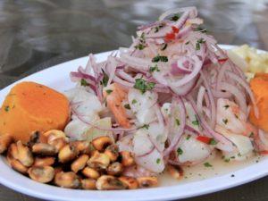 ceviche blanco peruano