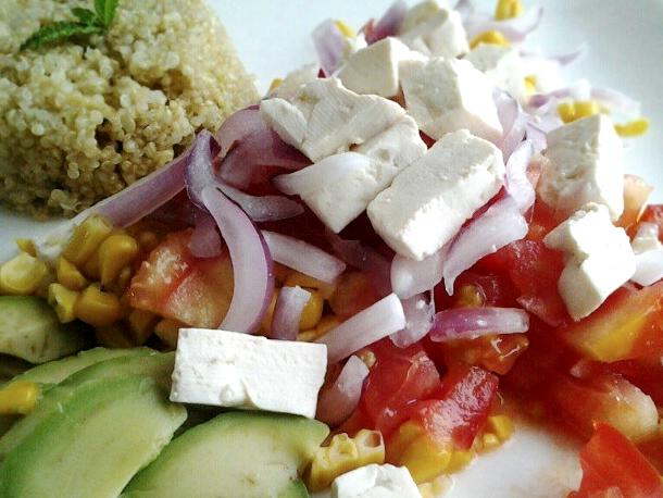 ceviche de tofu